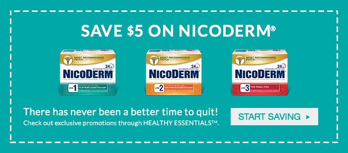 quit smoking for good start now with NICODERM