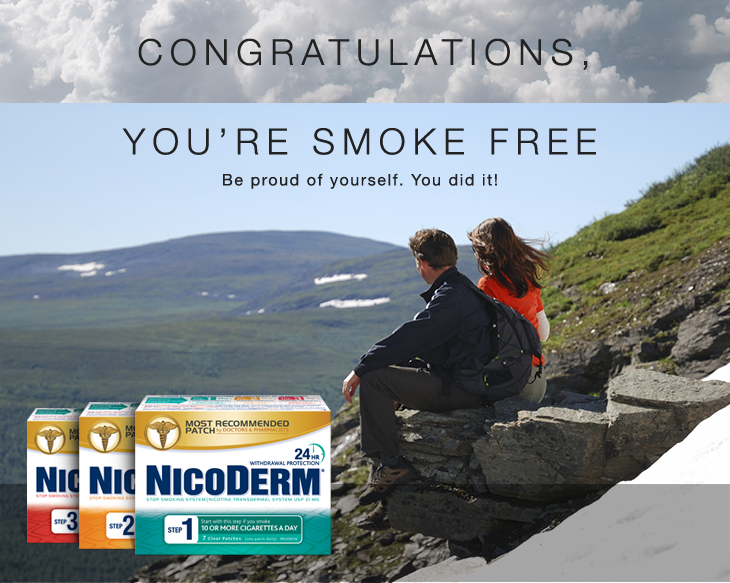 NICODERM the easy way to quit smoking