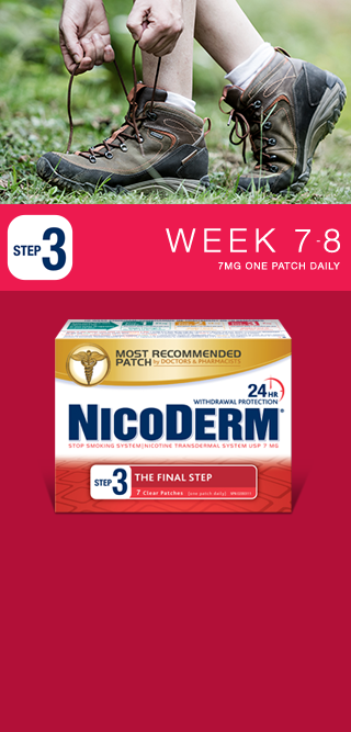 Nicoderm Step 3 - 7 MG Nicotine Patch