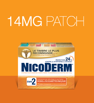NICODERM Patch Step 2 smoking cessation products