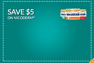 Save $5 on Nicoderm